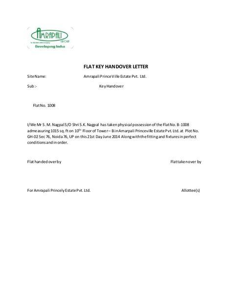 Handover Letter Sle Resume Handover Report Sle Cover Letter