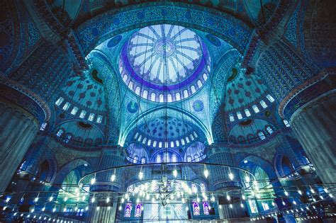 interior blue istanbul inspiration