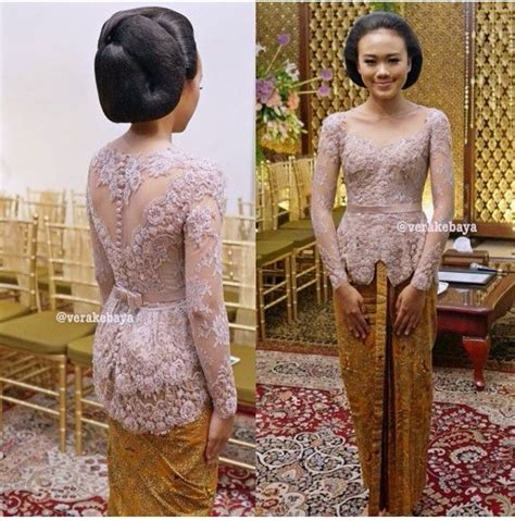 Kebaya Setelan Brokat Betwing Milo 57 best images about wedding 2015 on sequin gown kebaya and ponies