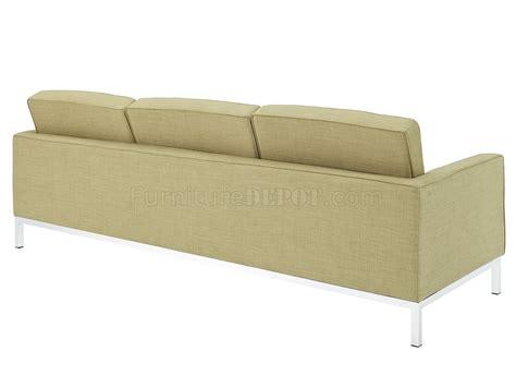 wool sofa loft wool sofa in green by modway w options
