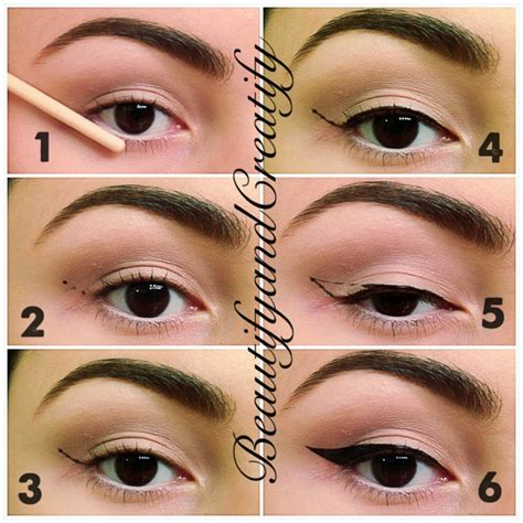eyeliner tutorial and tips i can t seem to do winged eyeliner correctly any advice