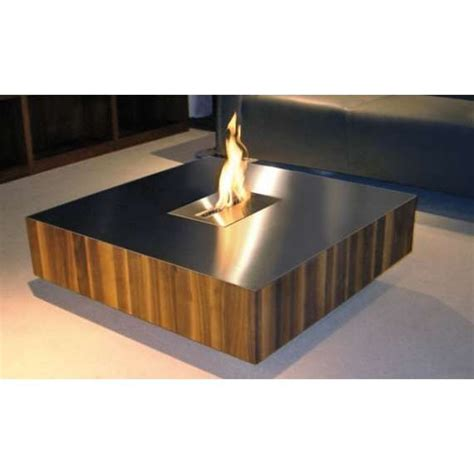 Amazing Indoor Fire Pit Coffee Table   Garden Landscape