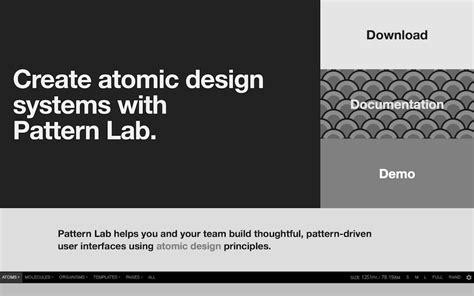 pattern lab component builder デザインの参考に デザインシステム スタイルガイド10選 in pocket インポケット