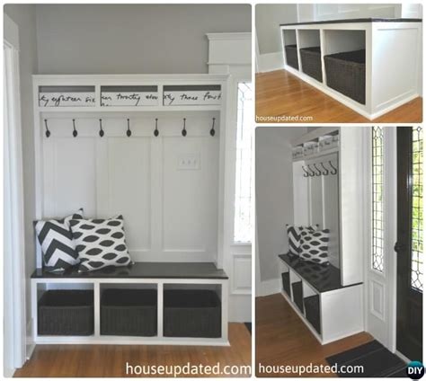 entryway cubbies 20 best entryway bench diy ideas projects picture