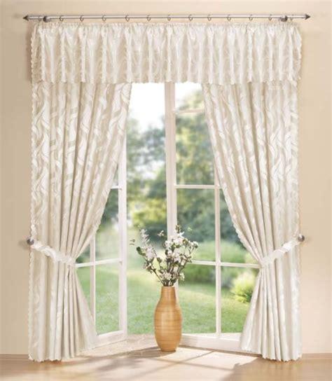 querbehang wohnzimmer damast gardinen set vorhang und querbehang 20106 ebay