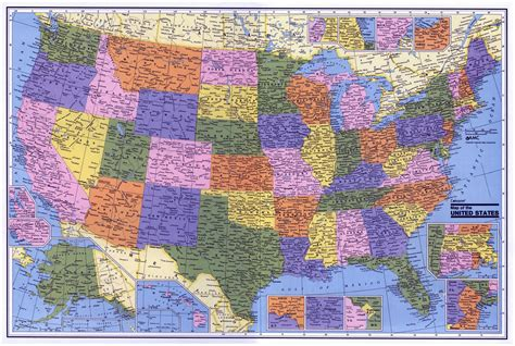 large map of usa large administrative map of the usa usa maps of the