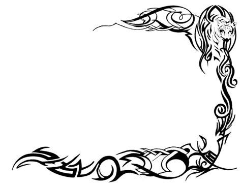 tattoo borders designs borders designs cliparts co