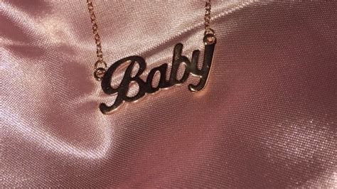 tumblr themes jewelry baby rose gold pink necklace accessories rose gold