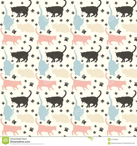 free cat background pattern cats pattern royalty free stock image image 31578936