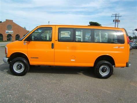 gmc savana 4x4 for sale find used 2001 gmc savana quigley 3500 4x4 6 5 turbo