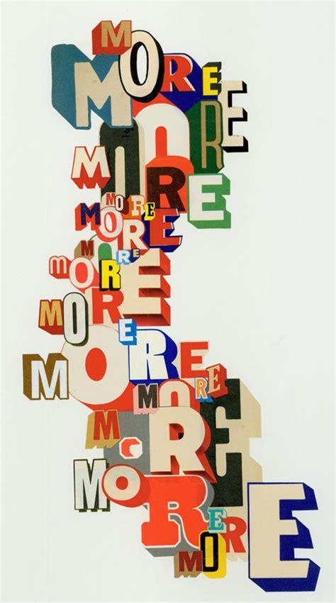 typography collage greg lamarche inspiration lab