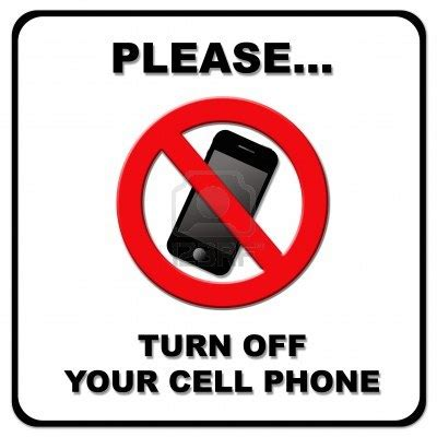 .please turn off cell interior sign ivory 6 x 9 hd supply