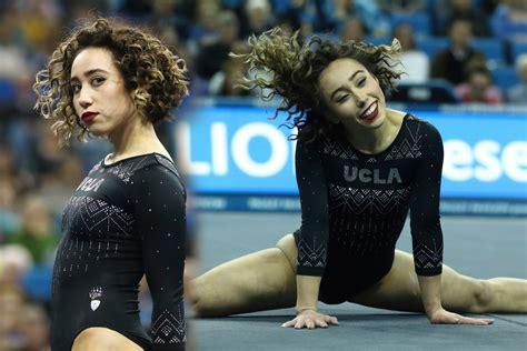 10 year gymnast floor routine ucla gymnast katelyn ohashi performs 10 michael