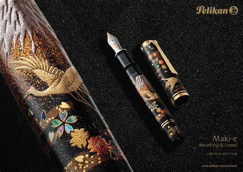 0007492898 information is beautiful new edition new pelikan limited edition maki e mount fuji and cranes