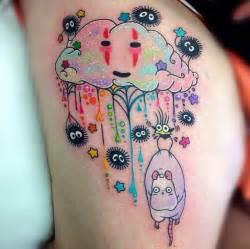 20 studio ghibli tattoos inspired by miyazaki films