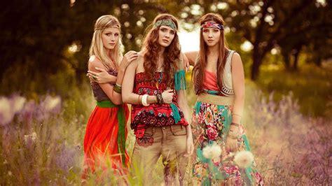 foto hippie figli dei fiori moda hippie fashion seventeen