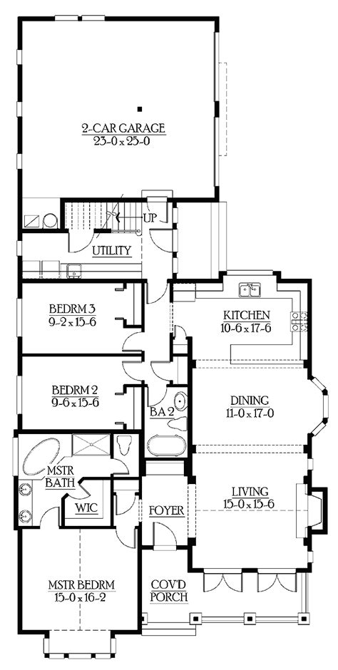 bedroom house plans modern with in suite