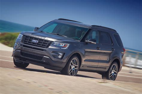 Explorer 2 3l Ecoboost Review by 2016 Ford Explorer 2 3l Ecoboost Awd Review Test