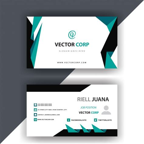 Simple Calling Card Design