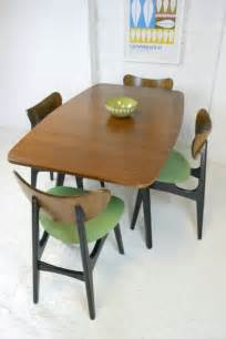 1950s g plan butterfly chairs table dining room