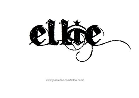 elli design ellie name designs