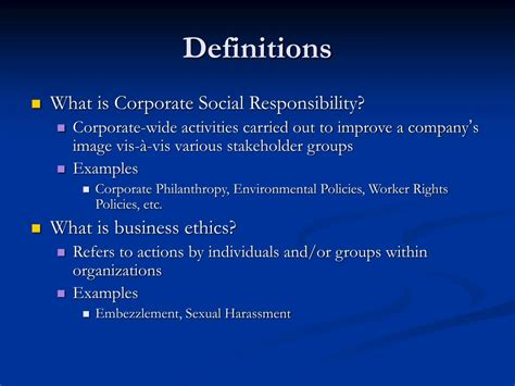 corporate social responsibility policy template ppt corporate social responsibility and business ethics