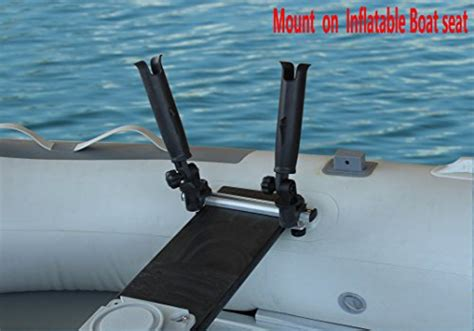 inflatable boat fishing rod holders brocraft inflatable boat canoe rod holder with aluminum