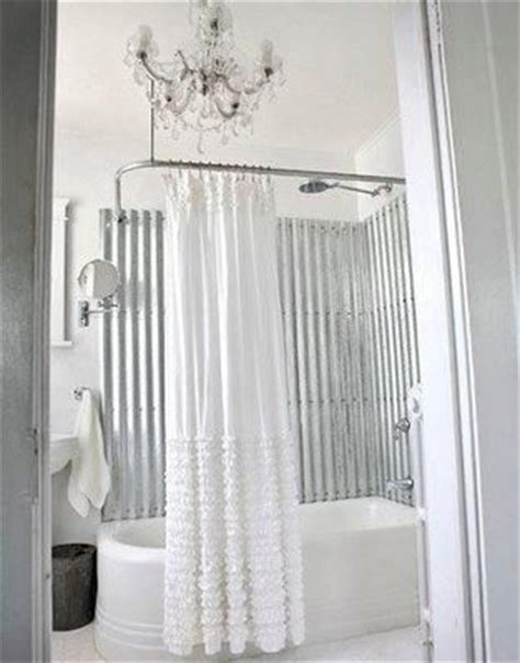 White Chenille Shower Curtain by Ack I It Home