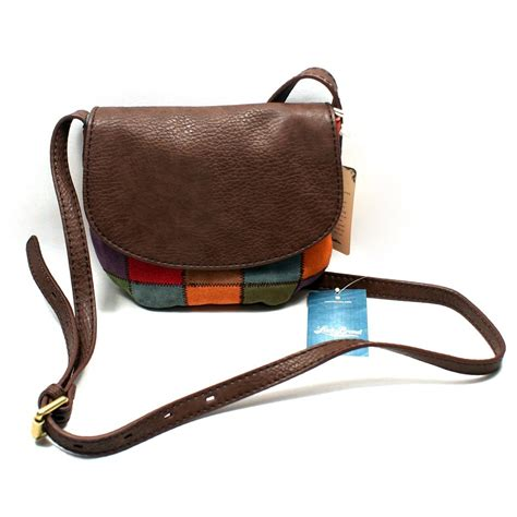 swing bag lucky brand suede patchwork cross body bag swing bag