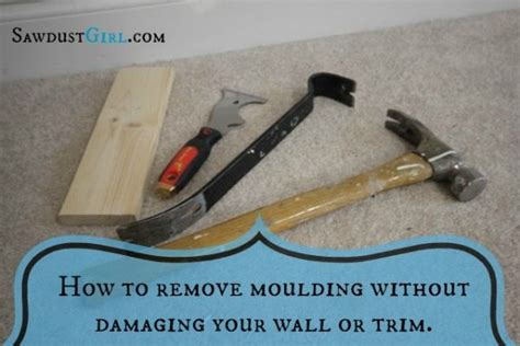 how to remove a wall removing baseboard without damage sawdust girl 174