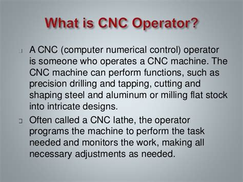 Salary For Cnc Machinist by Cnc Operator Wbt