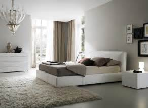 Gray Bedroom Paint decoration gray paint color for modern bedroom design idea with white
