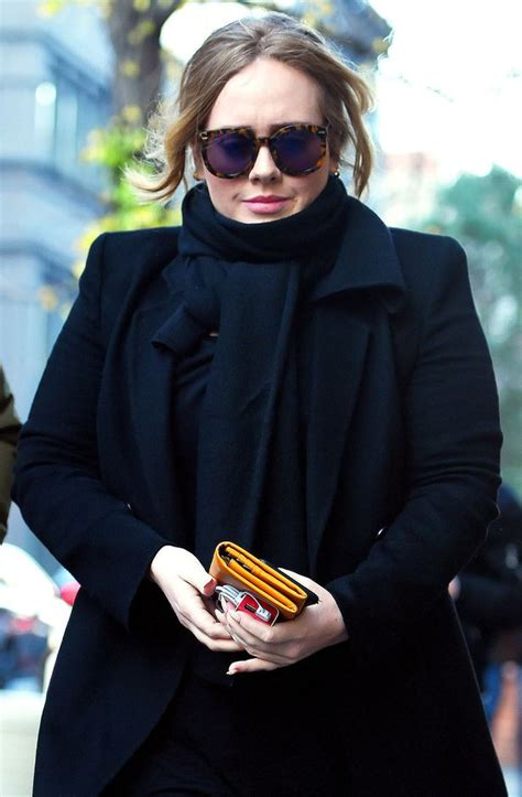 adele someone like you ex boyfriend name adele looks great in all black outfit as she reveals she