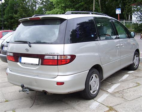 Previa Toyota Toyota Previa Pictures Information And Specs Auto