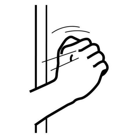 imagenes animadas tocando la puerta colorear mano tocando la puerta colorear dibujos de