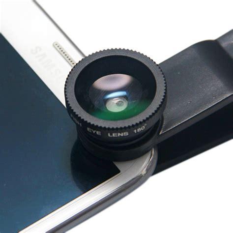 Lensa Universal universal clip lens product macro wide fisheye