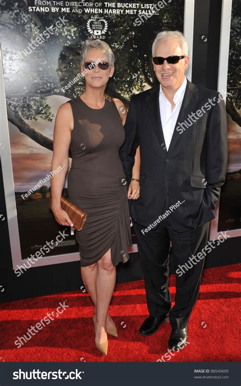christopher guest spouse jamie lee curtis christopher guest los stock photo