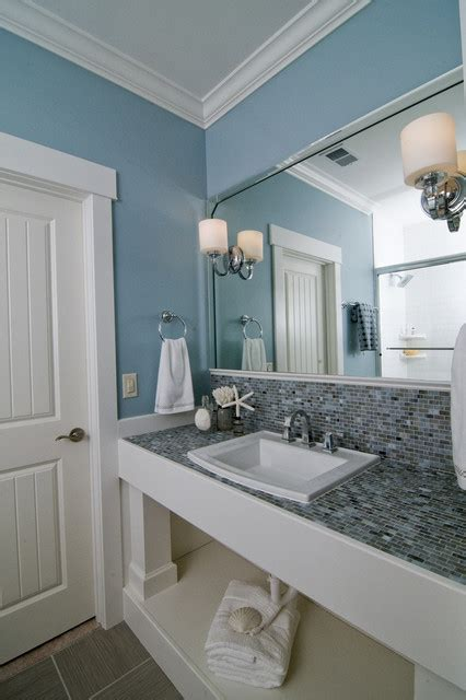 Coastal Retreat Guest Bath   Beach Style   Bathroom