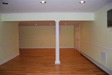 homey inspiration basement support beam cover ideas best