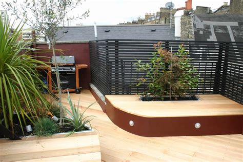 bedachung terrasse stylish seating roof terrace in pimlico sw1