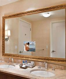 bathroom tv ideas stanford bathroom mirror tv electric mirror water