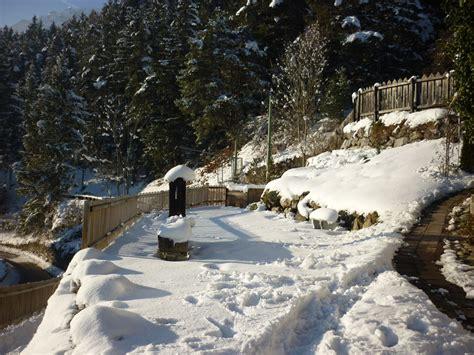Garten Im Winter by Ferienwohnung Draxlerhof Stubaital Familie Veronika Thaler