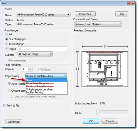display printable area autocad topic the pdf doesn t print to scale from adobe reader