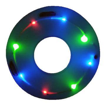 Batik Shoes Led Circle L ipree glow swimming ring led luminous children learner swim pool circle sale
