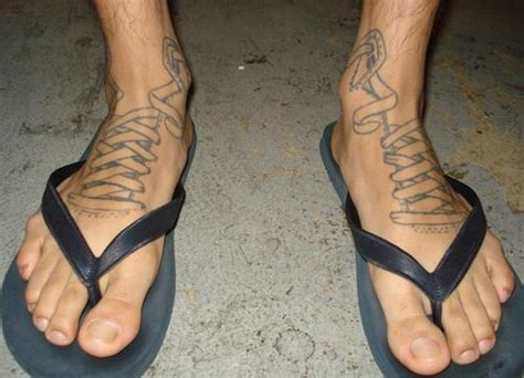 mens ankle tattoos foot tattoos for gallery