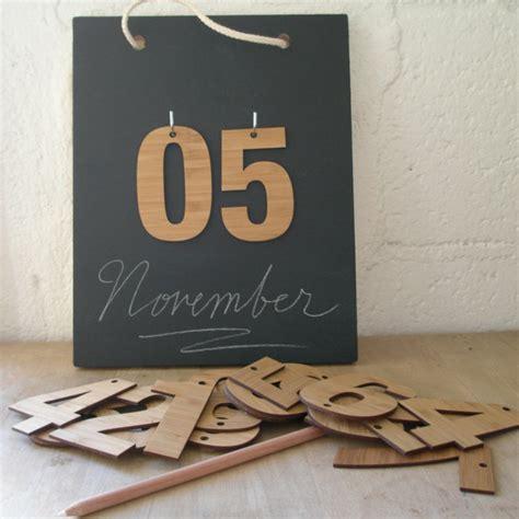tafel basteln kalender selbst gestalten 12 n 252 tzliche bastelideen f 252 r