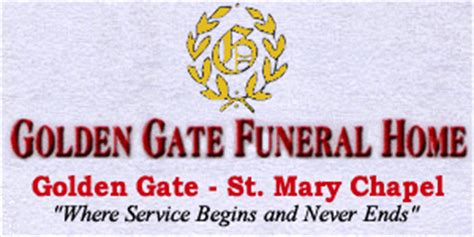 golden gate funeral home logo