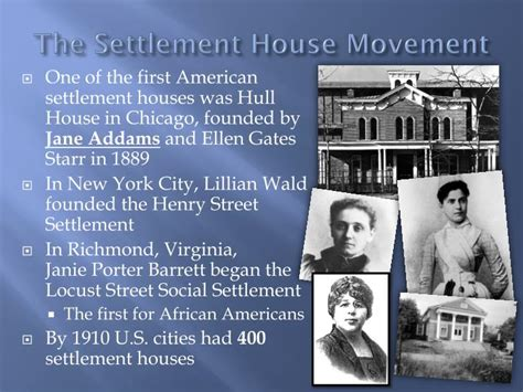 settlement houses were founded in the late 1800s by ppt new immigrants powerpoint presentation id 2962947