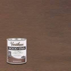 wood stain colors home depot varathane 1 qt 3x briarsmoke premium wood stain of