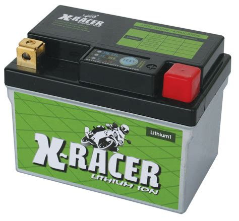 Motorrad Batterie Lithium Ionen Test by X Racer Lithium Ionen Akkus Unibat De Batterien F 252 R